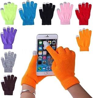 PickTheDeal Touch Screen Winter Gloves Warm Touchscreen Woolen Mittens for Men Women Children