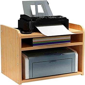 Xuyuanjiashop Drucker Stander Drucker Regal Regal Desktop Abstellflachen Dokumente Multi Layer Regal Kopiert Rack Massivholz Schrank For Heim Und Buro Office Supplies Organizer Amazon De Kuche Haushalt
