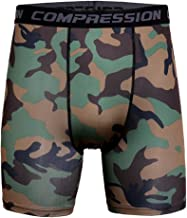 MISSMAO Kompressionsshort Boxer Fitness Hose Slim Fit Printed Base Layer Hose kurz Compression Shorts