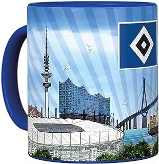 Hamburger SV HSV Versandservice HSV Tasse Metallic