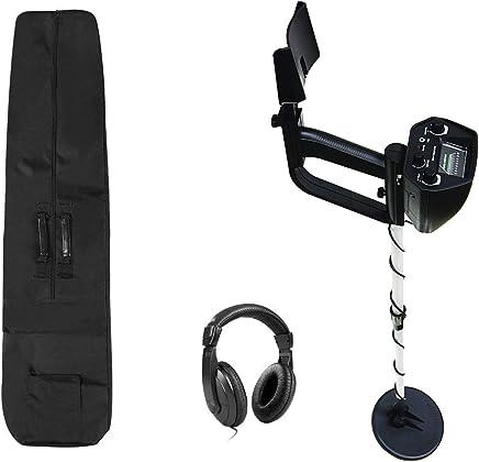 American Hawks Explorer Metal Detector | Arm Support, View Meter, Waterproof Search Coil,