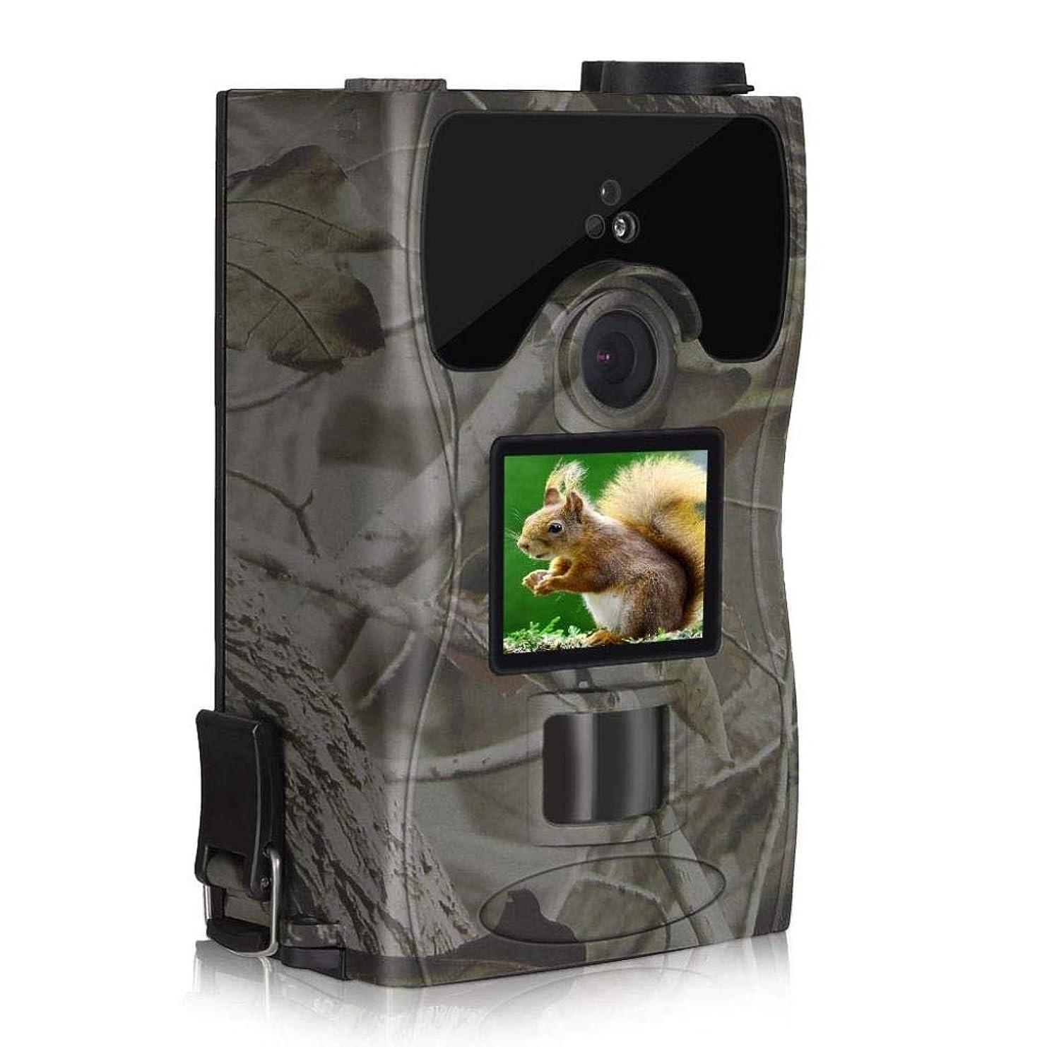 準備する状態意味アウトドア 野生動物用カメラトラップ(2.0インチLCD)16MP 1080 P野生の捕獲カム赤外線モーション活性化ナイトビジョンIP 55防水用屋外フィールドホームセキュリティ