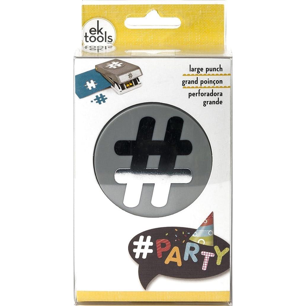 EK Tools Double Punch-Hashtag
