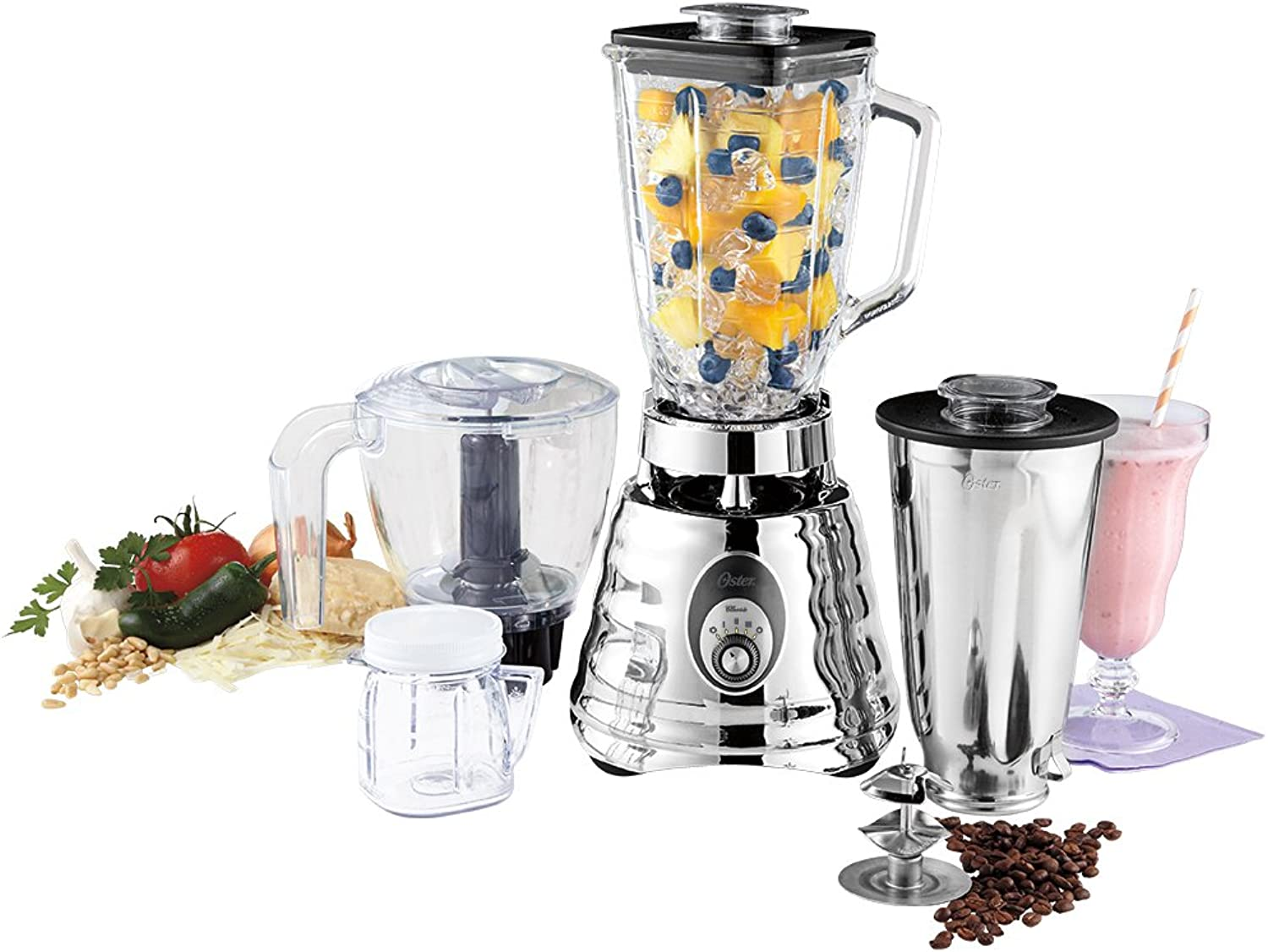 Oster BLSTBC4129 Kitchen Center Beehive blender,  Silver