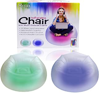 Simi Inflatable LED Chair