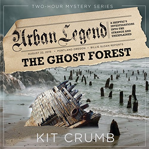 The Ghost Forest audiobook cover art