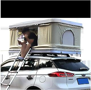 XPHW Biltakstält 2-3 vuxna vattentätt biltaktält ABS-skal, med förlängningsstege och LED-ljus