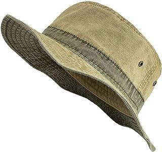 Mens Bob Summer Panama Bucket Hats Outdoor Fishing Wide Brim Hat UV Protection Cap Men Sombrero