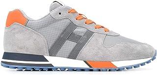 Luxury Fashion | Hogan Men HXM3830AN51N4X50C6 Grey Suede Sneakers | Spring-summer 20