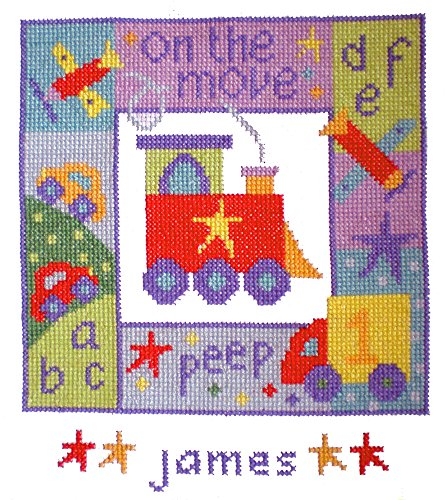 The Stitching Shed on the Move Cross Stitch Kit