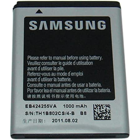Samsung EB424255VA for SGH-A667 Evergreen SGH-A927 Flight II SGH-T479 Gravity 3 SGH-T669 Gravity Touch SCH-R630 Messager Touch SPH-M350 Seek SGH-T369 SGH-T359 Smiley SGH-A817 Solstice II