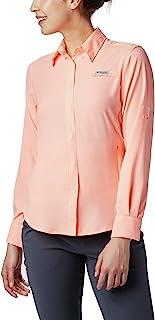قميص نسائي PFG Tamiami II بعامل حماية من أشعة الشمس 40 بأكمام طويلة من Columbia