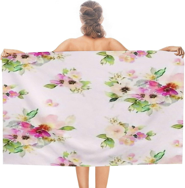 4 Kalani Blooms Over item handling Blush Free shipping / New Microfiber 51