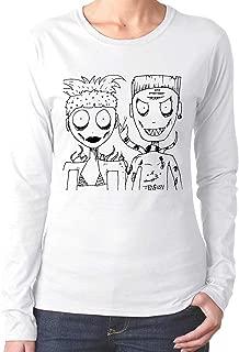 ZAAROO T-Shirt Die Antwoord Yolandi & Ninja Clásica de Manga ...