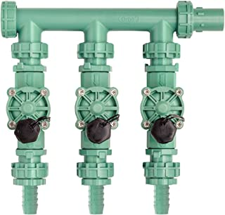 Orbit 91207 3-Valve Preassembled Manifold, Poly Pipe