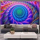 KHKJ Tapiz de Pulpo AbstractHippe tapices de Pared para Colgar en la Pared para Sala de Estar Dormitorio decoración del hogar A9 150x130cm