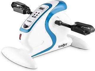 comprar comparacion Klarfit Cycloony Mini Bicicleta estática portátil (70 W, indicador calorías, Distancia, Carga máxima 120kg, 12 velocidades...