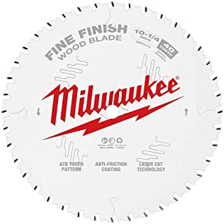 MILWAUKEE 10-1/4 in. 40T Fine Finish Cir