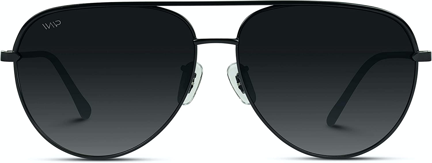 Cash special price WearMe Pro - Oversized Colorado Springs Mall Flat Aviat Lens Inspired Designer Fashion