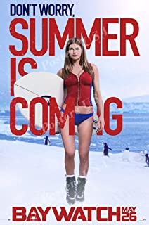 Posters USA - Baywatch Alexandra Daddario GLOSSY FINISH Movie Poster - FIL532 (24