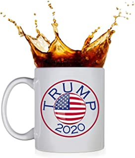 KROPSIS Trump 2020 - D2 - Ceramic Coffee Mug White