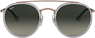 Rb3647n Double Bridge Round Sunglasses