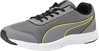 Puma Men's Bent Idp Charcoal Gray-Blazing Yellow-pu Sneakers