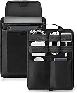tomtoc 13 inch Slim Laptop Sleeve Electronic Accessory Organizer for 2018 New MacBook Pro & Air 13 inch and Cable Charger ...