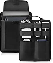 tomtoc Electronic Accessory Organizer Panel for Cable Hard Drive USB Hub Power Bank, Tech Gear Management Sleeve for 13-inch New MacBook Air & Pro, Surface Pro 6/5/4, 9.7-11 Inch iPad