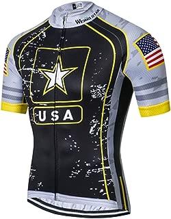 Mens Cycling Jersey Shirt,2019 Short Sleeve Bike Jersey Riding Tops Outdoor MTB Cycling Clothing