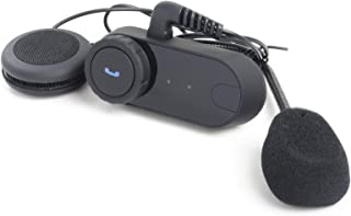 vMoSha Smart Bluetooth Headset for Helmets for 3 Riders Motorcycle Bike Intercom MP3 Player/GPS/FM Radio/Hands Free