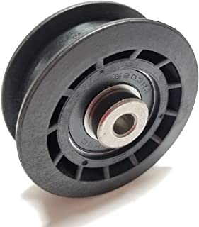 Flat Idler Pulley Replaces Pulley Part Number 106-2176 Used On Exmark LawnBoy and Toro