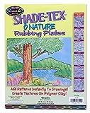 Melissa & Doug Shade-Tex Rubbing Plates - Nature Set...