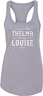 بايبر لو - أنت Thelma إلى My Louise Ideal Racerback Tank
