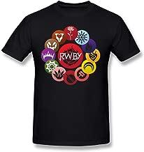 GOOOET Men's RWBY Ring Cotton T-Shirt