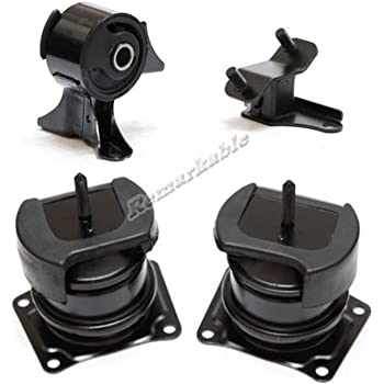 2003 2004 2005 Honda Pilot 5PCS LSAILON Engine Motor and Trans Mounts Kit Front Rear Transmission Mount Compatible for 2001 2002 Acura MDX