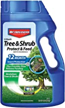 BioAdvanced 701700B 12-Month Shrub Protect & Feed Insect Killer and Tree Food, 4 lb, Granules