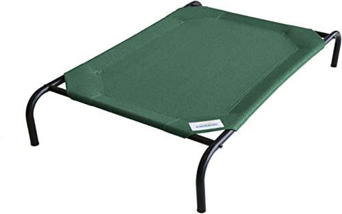 The Original Elevated Pet Bed by Coolaroo, Large, Brunswick Green