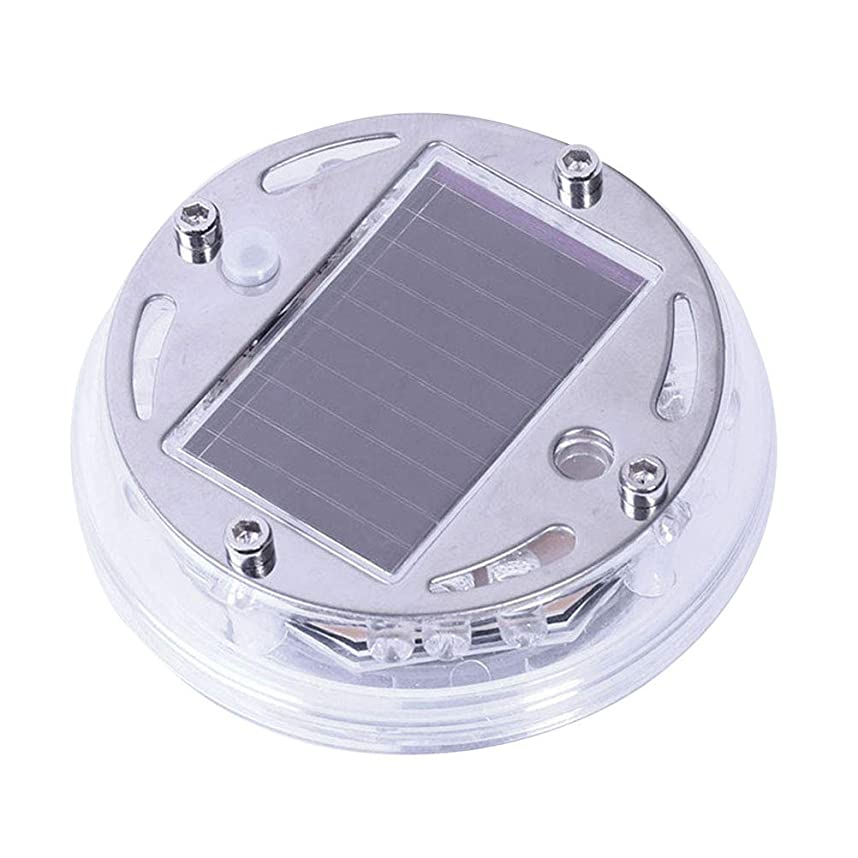 マウント祝福する産地VORCOOL 太陽エネルギー LEDフラッシュネオンカバー ライトカータイヤランプリムホイールセンターハブライトを飾るため