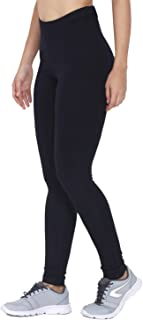 CHKOKKO Women High Waist Solid Anle Length Stretchable Premium Viscose Leggings