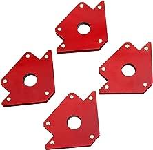 TANKSTORM Welding Magnet New Set Tig Arc Mig Magnetic Welding Square Magnetic Welding Holder 4 Pack 50 lbs Capacity (76002)