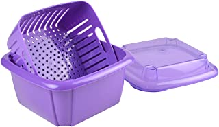 Hutzler 374VT Berry Box, 1 Quart, Violet
