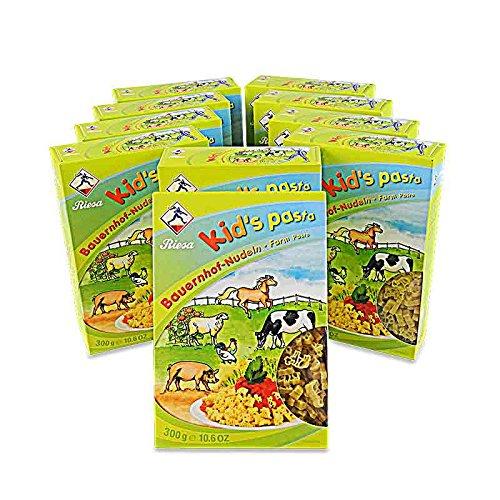 Kid's Pasta Bauernhof-Nudeln 10er Pack (10 x 300 g)