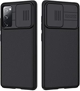 Samsung Galaxy S20 FE 5G Case with Slide Camera Cover, Slim Stylish Slip Shockproof Protective Case for Samsung Galaxy S20...