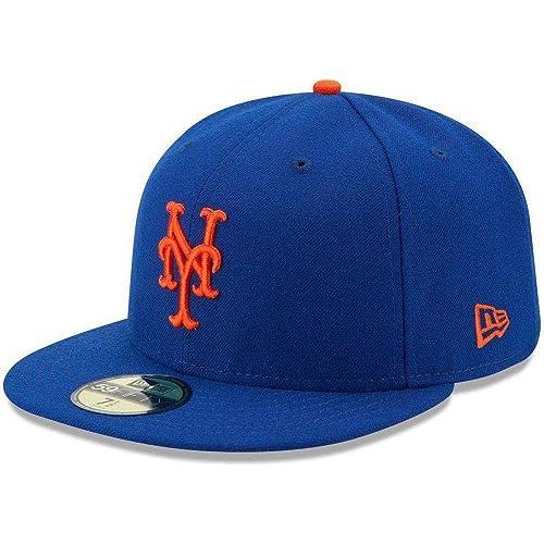 New York Mets Blue Orange Grey MLB New Era 9Twenty Adjustable Strapback Dad Hat