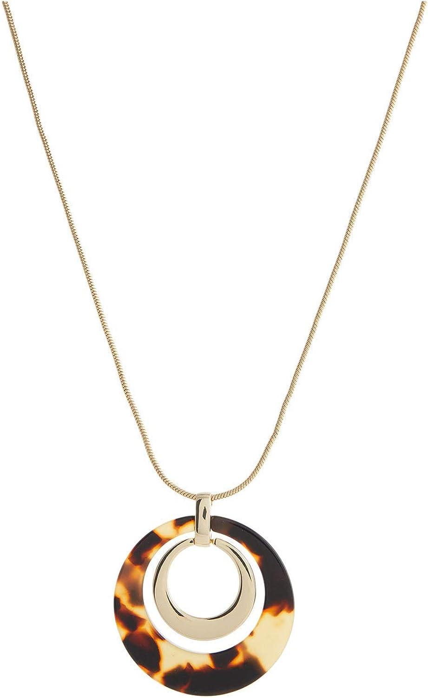 Lauren Ralph Lauren Link Pendant Necklace