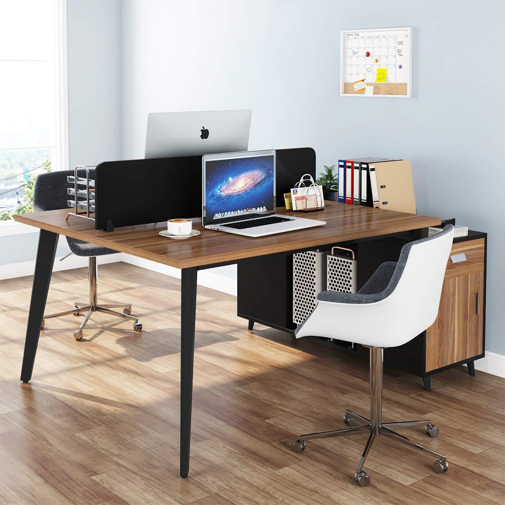 Tribesigns Double Computer Desks Two Pe Buy Online In China At Desertcart