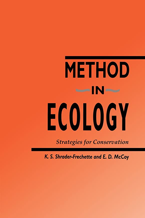 池極小不潔Method in Ecology: Strategies for Conservation