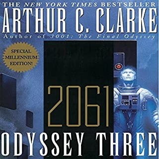 2061: Odyssey Three                   Auteur(s):                                                                                                                                 Arthur C. Clarke                               Narrateur(s):                                                                                                                                 Scott Brick                      Durée: 7 h     1 évaluation     Au global 3,0