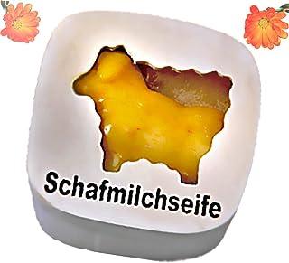 Saling Schafmilchseife Schaf mit Ringelblume 85 g in Geschenkdose